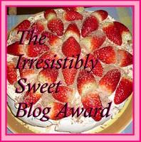 An Award – How Sweet It Is!