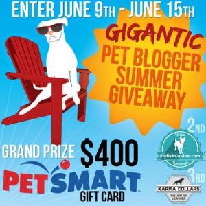 Summer Bash Gigantic Giveaway for Pets