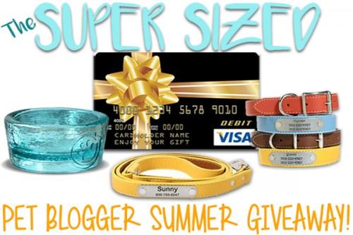 Super Sized Pet Blogger Summer Giveaway