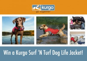 Kurgo Surf 'N Turf Dog Life Jacket Giveaway #SurfNTurf