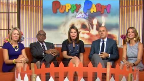 The Today Show on Puppy Parties